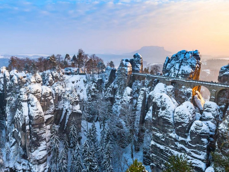 Day Trips to Bohemian and Saxon National Park from Prague