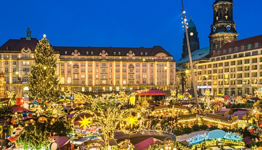 Dresden Christmas Market tours from Prgaue